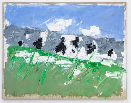 Christian Lindow, 'Mountain (Green Meadow)', 1981