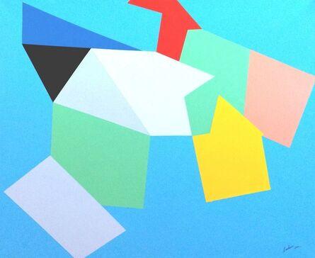 Marcel Barbeau, 'L'épi de cristal', 2001