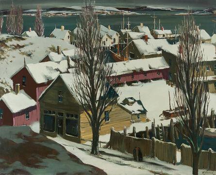 Henry Gasser, 'Winter Docks', ca. 1950s-1960s