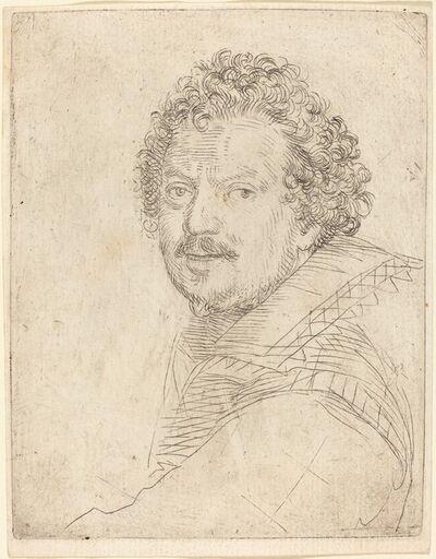 Ottavio Leoni, 'A Man with a Moustache and Goatee, Facing Forward', 1620s