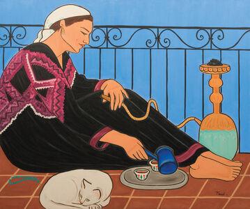 Mona Trad Dabaji, 'L'attente', 2002