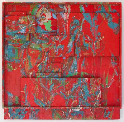 Romul Nutiu, 'Red Assemblage', 1969