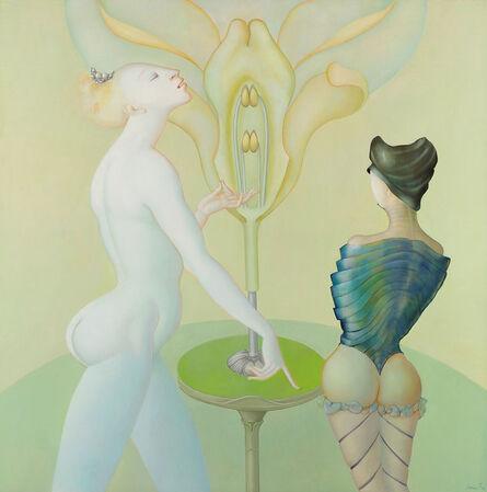 Leonor Fini, 'Le lecon de botanique', 1974