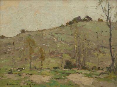 Chauncey Ryder, 'Sunny Hillside', ca. 1915