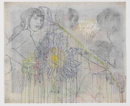 Ghada Amer & Reza Farkhondeh, 'Disarray Of Emma Bovary', 2017