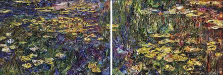 Vik Muniz, 'Pictures of Magazines 2: Nympheas, after Claude Monet (diptych)', 2013