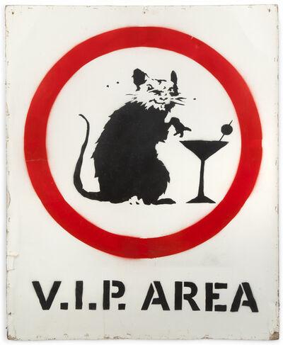 Banksy, 'V.I.P. Rat', 2005