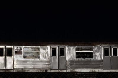 David S. Allee, '4:02 pm, J Train', 2010