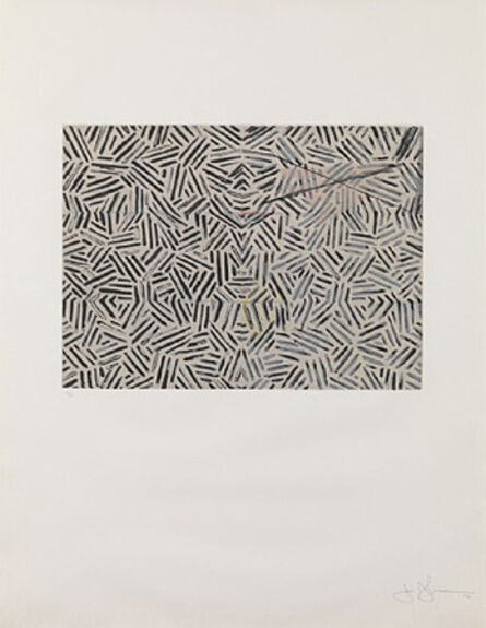 Jasper Johns, 'Corpse and Mirror', 1976