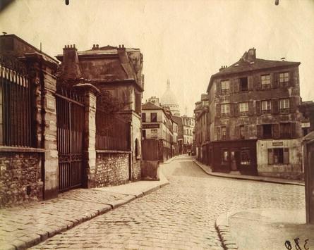 Eugène Atget, 'Montmartre, (Rue Norvins)', ca. 1905