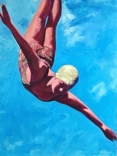 TS Harris, 'Soaring (Diver)', 2014