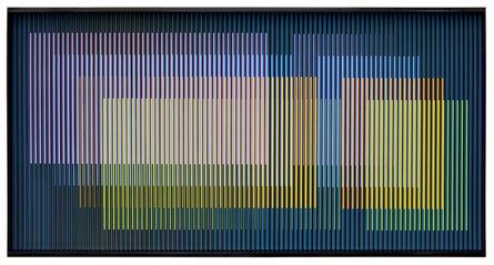 Carlos Cruz-Diez, 'Cromointerferencia Espacial 53', 1964 -2017