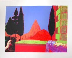 Andy Warhol, 'Details of Renaissance Paintings (Leonardo Da Vinci, The Annunciation, 1472)', 1984