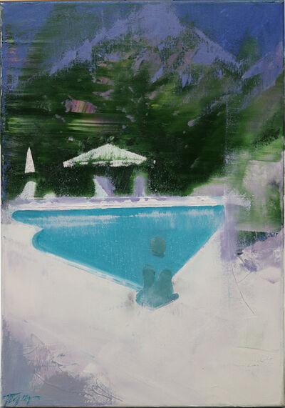 Vitaly Pushnitsky, 'Swimming pool — 2. ', 2017