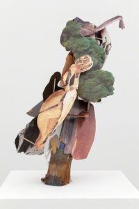 Geoffrey Farmer, 'Decalcomania Drop-Leafed with Deckle-Edged Dentils', 2013