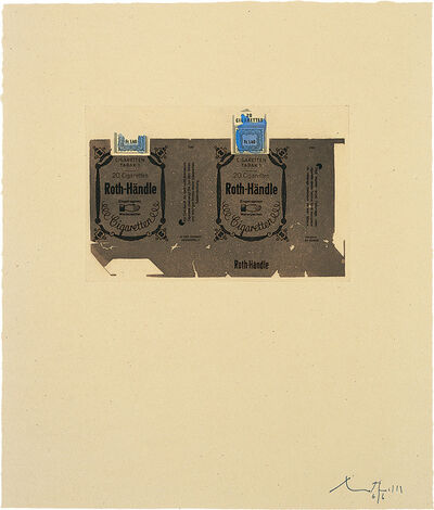 Robert Motherwell, 'Roth-Handle II [Brown]', 1975
