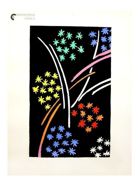 """Sonia Delaunay, 'Pochoir """"Composition"""" after Sonia Delaunay', Circa 1930"""