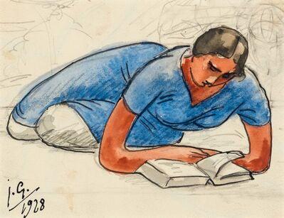 Julio González, 'Femme A Sa Lecture', 1928