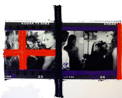 William Klein, 'Backstage Alaia , Paris', 1987