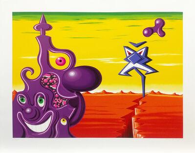 Kenny Scharf, 'SAIJEPPE KRAKKA JOUJESH', 1998