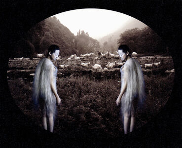 Lin Tianmiao & Wang Gongxin, 'Here ? or There ?  N°6', 2002