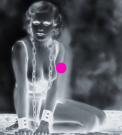 Tim Sullivan, 'White Shadow (Harlow with Pink Dot)', 2014
