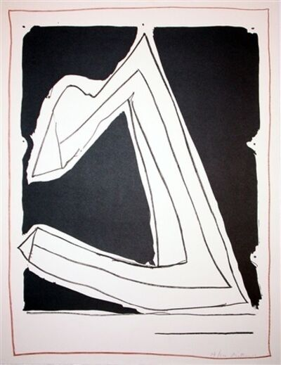 Robert Motherwell, 'Summertime in Italy - Black', 1966