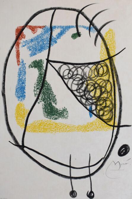 Joan Miró, 'Composition IX, from: The Essences of the Earth   Les Essencies de la Terra', 1968
