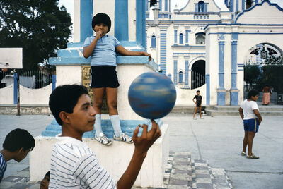 Alex Webb, 'Children playing in a courtyard. Oaxaca state. Tehuantepec. MEXICO', 1985