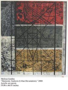 Melissa Gordon, 'Harmonic Analysis (Urban Devastation)', 2008