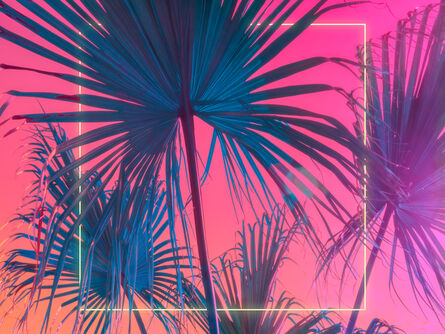 Mischelle Moy, 'Palms Squared', 2020