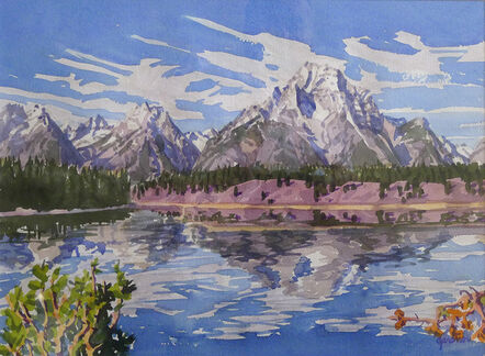 Sheila Gardner, 'Mt. Moran II', 1999
