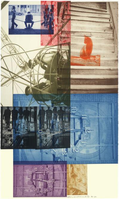 Robert Rauschenberg, 'Soviet/American Array III', 1990