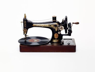 Nancy Fouts, 'Sewing Machine Record Player', 2011