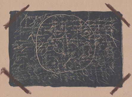 Antoni Tàpies, 'Llambrec material XVI', 1970-1980