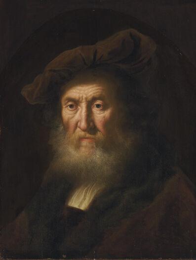 Salomon Koninck, 'Head of an old man, bust-length'