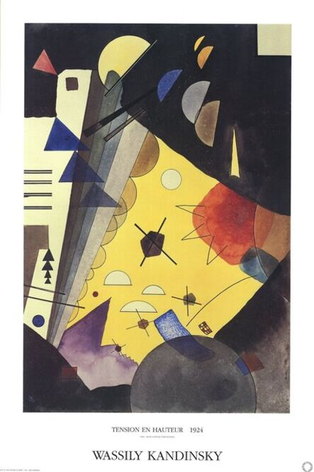 Wassily Kandinsky, 'Tension in Height', 2017