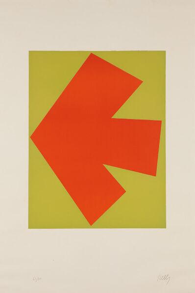Ellsworth Kelly, 'Orange over Green (Orange sur Vert), from the Suite of Twenty-Seven Color Lithographs', 1964-1965