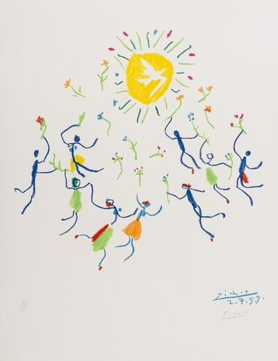 Pablo Picasso, 'La Ronde au Soleil', 1959