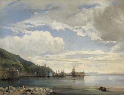 Léon-François-Antoine Fleury, 'On the Bay of Naples', ca. 1830