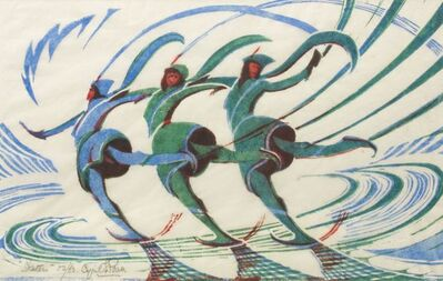 Cyril Power, 'Skaters', 1932