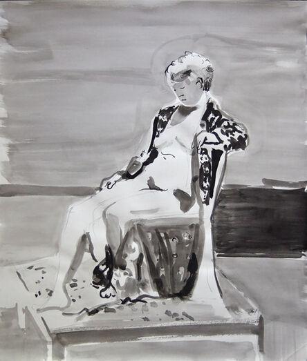 John Goodrich, 'Figure with Fabric', 2014