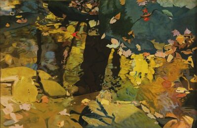 Ralph Wickiser, 'Yellow Reflections', 1983