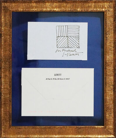 Sol LeWitt, 'Untitled (Black and White Lines)', 2001