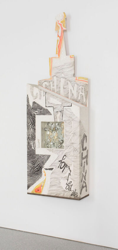 Mary Bauermeister, 'China Tinta-Import Forbidden', 1966-1969
