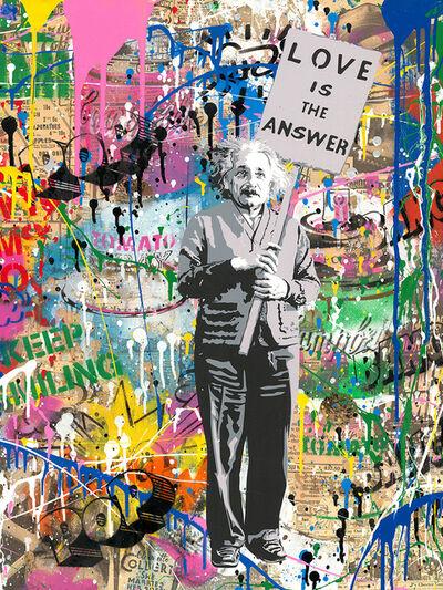 Mr. Brainwash, 'Einstein', 2017