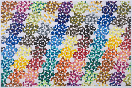 Michael Kidner, 'Particle Evolution: The End of the Tunnel at Cern. Stage 1', 2008