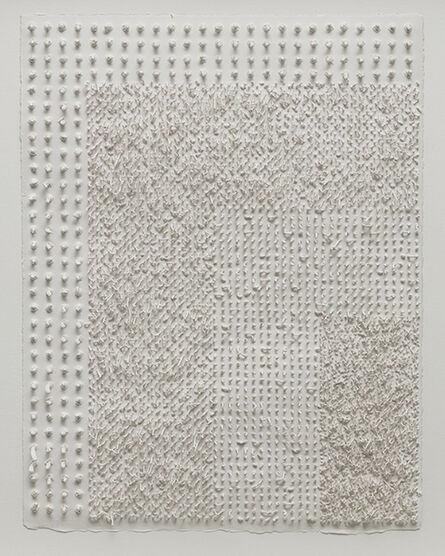 Lars Christensen, 'White Structure / Manual #5', 2014
