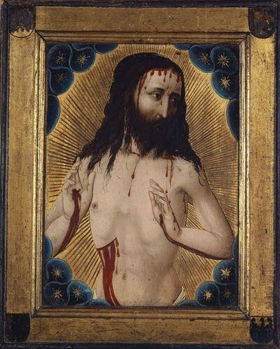 Hans Pleydenwurff (Workshop), 'The Man of Sorrows', 1456