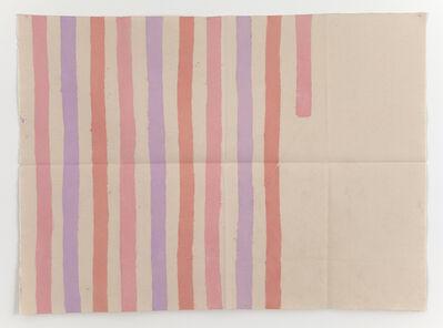 Giorgio Griffa, 'Verticale', 1977